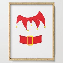 Elf Costume Christmas Xmas Winter Holidays Holiday Serving Tray