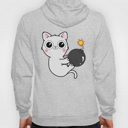 Kitty With a Ball of YaaAAAAA!!! - Explosives Expert Boom Cat Hoody