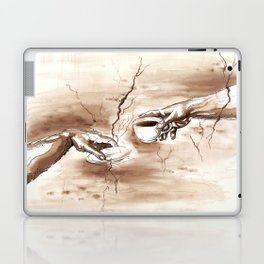 The Creation of Coffee Laptop & iPad Skin