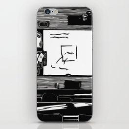 Class Print iPhone Skin