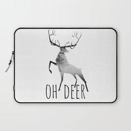oh deer /Agat/ Laptop Sleeve