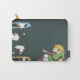Thinking With Chickens Carry-All Pouch
