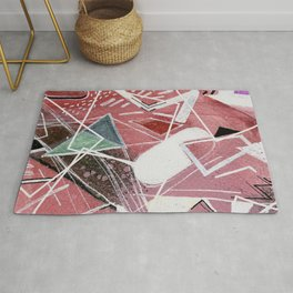 Total Abstract Rug