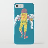 junk food iPhone & iPod Cases featuring Death Of Junk Food by ERROR Design