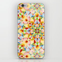 Pastel Geometric iPhone Skin