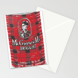 McGraws Ale Stationery Cards