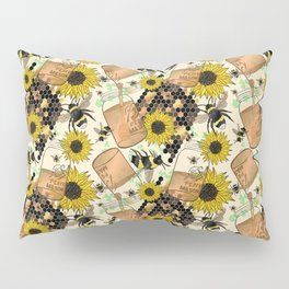 Sweet Honey Bees Pillow Sham