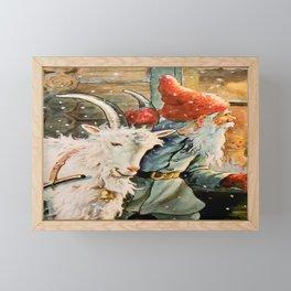 """Through the Window"" by Jenny Nystrom Framed Mini Art Print"