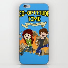 Co-Optitude Time iPhone Skin