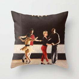Brooklyn Swings on Friday Throw Pillow