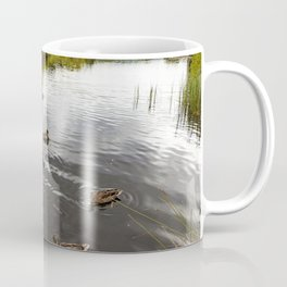 Ducks enjoying life Coffee Mug