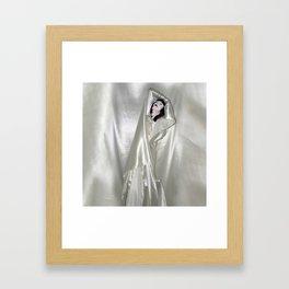 "say no to patriarchy / ""the drama"" Framed Art Print"