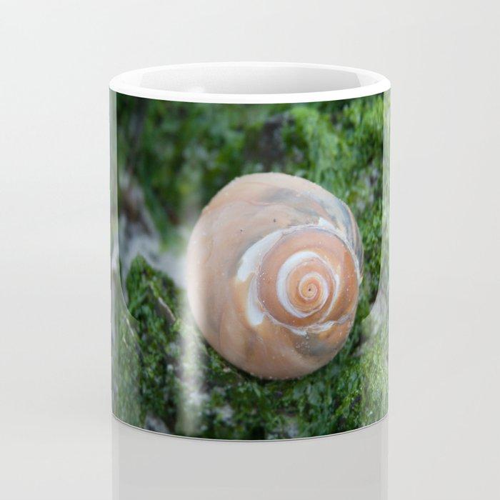 Shell on Moss Coffee Mug