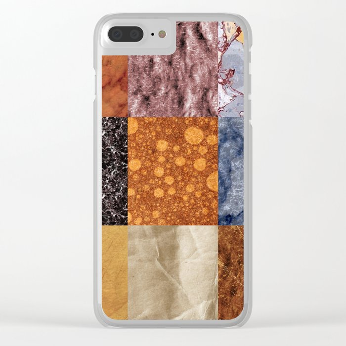Abstract #473 Clear iPhone Case