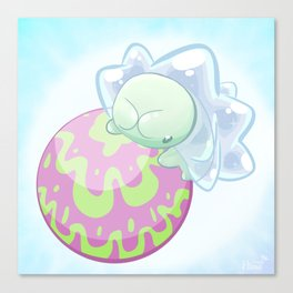 Watamel Ball Canvas Print