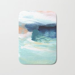 brushstrokes 14 Bath Mat