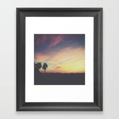 Forever Sunsets Framed Art Print