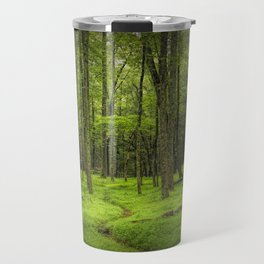 A Woodland Path in Cades Cove Travel Mug
