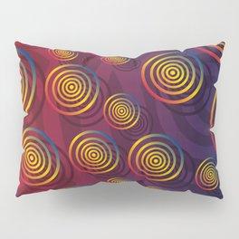 Color Circles Pillow Sham