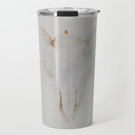 Pearly White Travel Mug