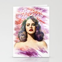 ultraviolence Stationery Cards featuring belrays by evenstarss