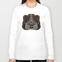 ewok Long Sleeve T-shirts featuring Star . Wars - Ewok by Nathan Owens
