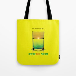Get The Full Picture Tote Bag