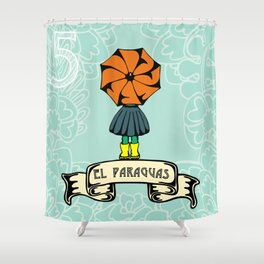 El Paraguas Shower Curtain