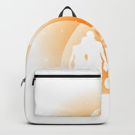 Moon Couple Moon And Sky Lover Gift Backpack