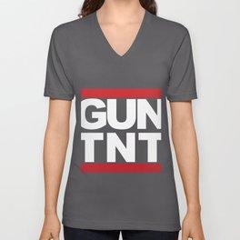 GUN TNT RUN DMC Unisex V-Neck