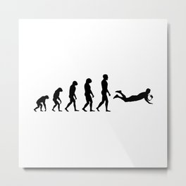 Evolution Rugby #4 - Try Metal Print