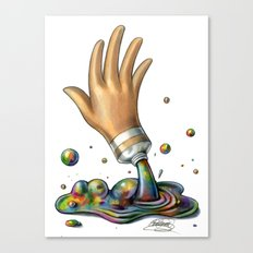 Hand of Color Canvas Print