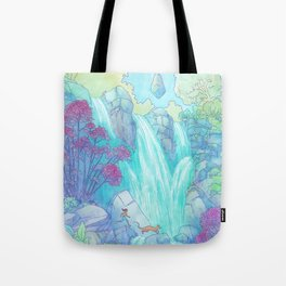 Crossing the Falls Tote Bag