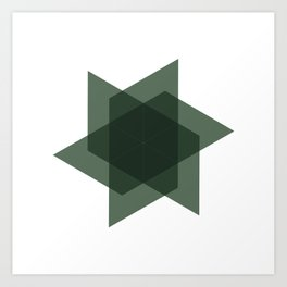 #226 Intersection – Geometry Daily Art Print