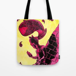 Hair Wave Tote Bag