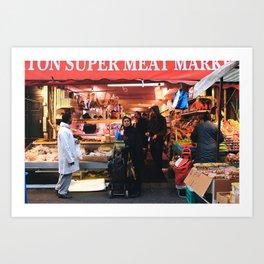 Brixton market Art Print
