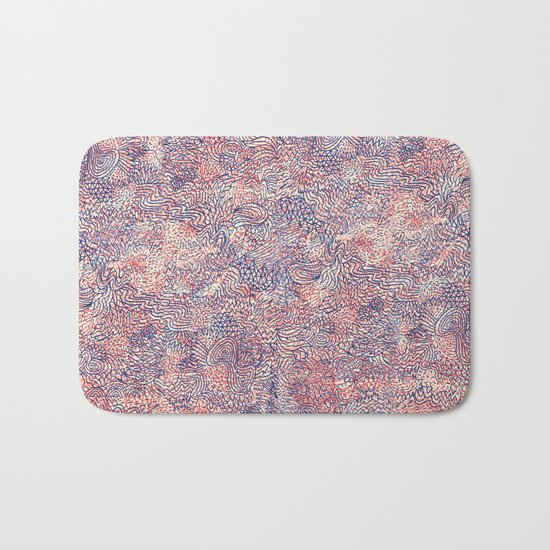 Space Is Only Noise Bath Mat