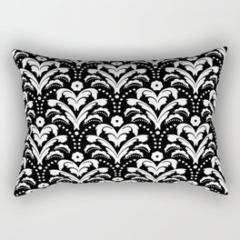 Art Deco Damask Classic Rectangular Pillow