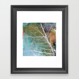 spring silk Framed Art Print