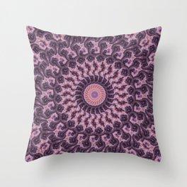 Sunset Kaleidoscope 1 Throw Pillow