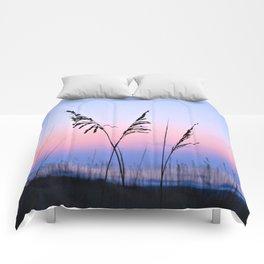 Sea Oats Sunrise Comforters