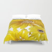 daisies Duvet Covers featuring Daisies by Regan's World