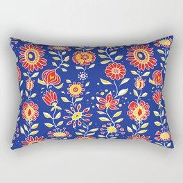 wonky wildflower waterfall ... Rectangular Pillow