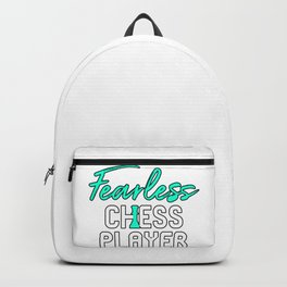 Fearless Chess Player Backpack