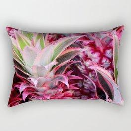 Pink Pineapple Rectangular Pillow