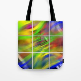 colourful abstraction Tote Bag