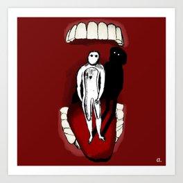 The Toothtroll Art Print