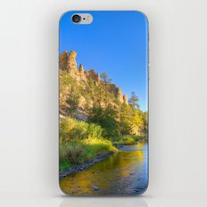 River and Cliffs iPhone & iPod Skin