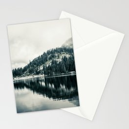 Lake at Mount Rainier Stationery Cards