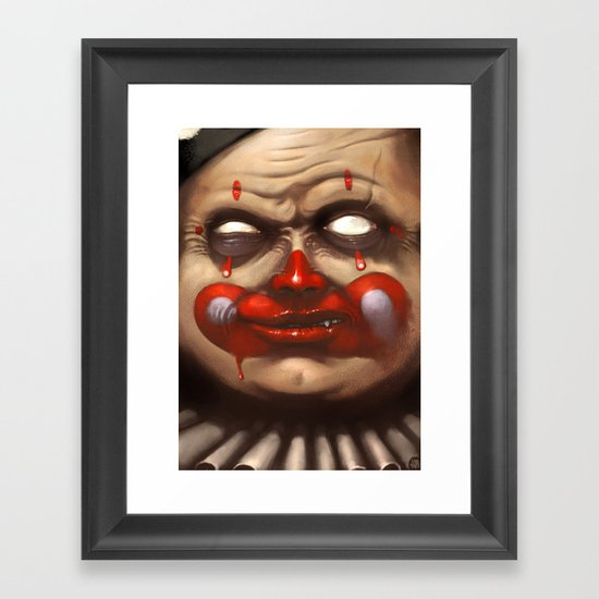 Hide your Children Framed Art Print